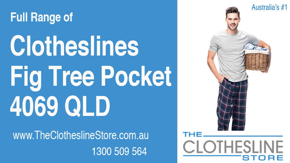 New Clotheslines in Fig Tree Pocket Queensland 4069