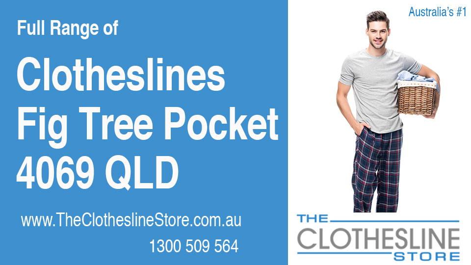 New Clotheslines in Fig Tree Pocket Queensland 4069