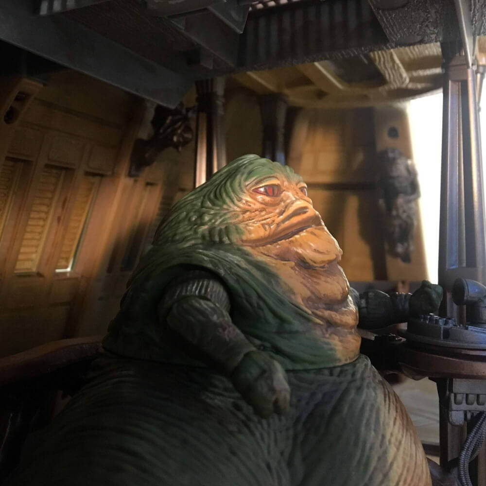 HasLab Jabba's Sail Barge Update #5
