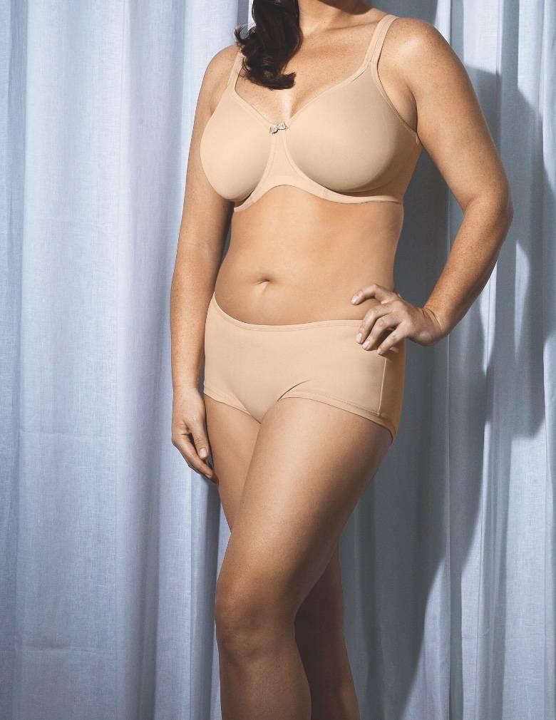 Elomi Smoothing EL3911 Nude Underwire Seam-Free Bra