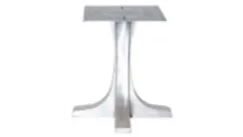 pedestal T table base