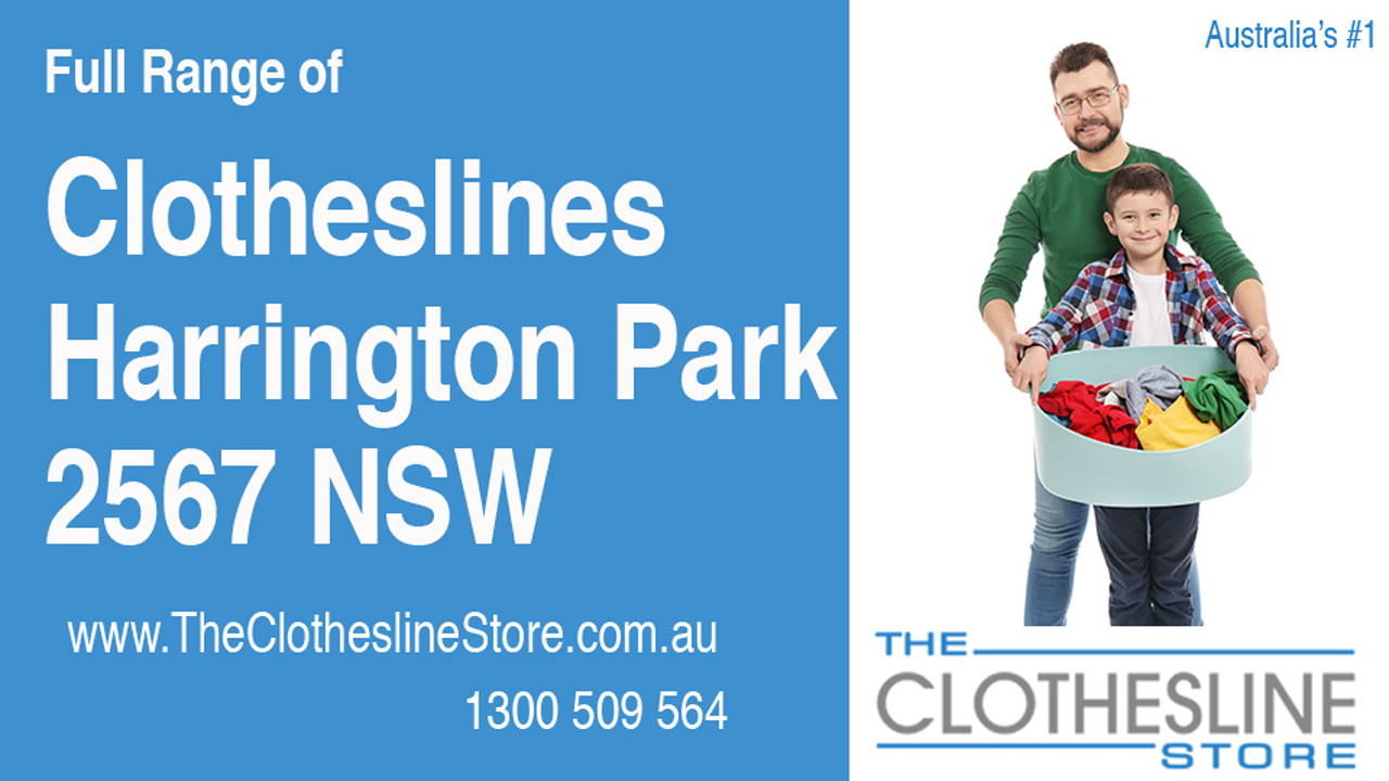New Clotheslines in Harrington Park 2567 NSW