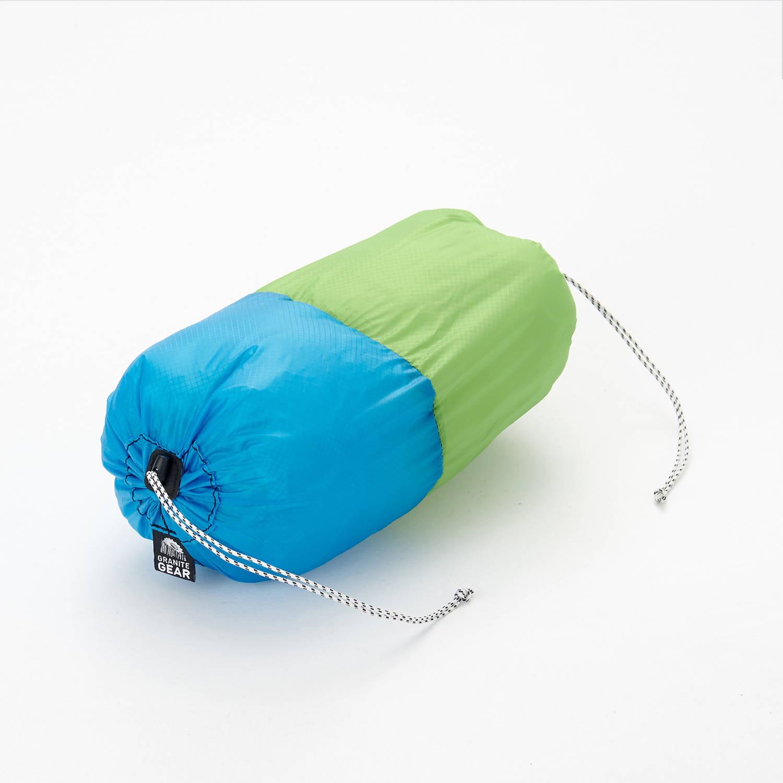 GRANITEGEAR(グラナイトギア)/エアペアー/L(4L) グリーン×ブルー