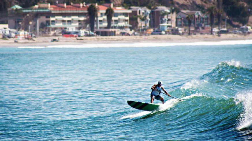 Doheney State Beach Park in Dana Point California surfing on Pau Hana carve