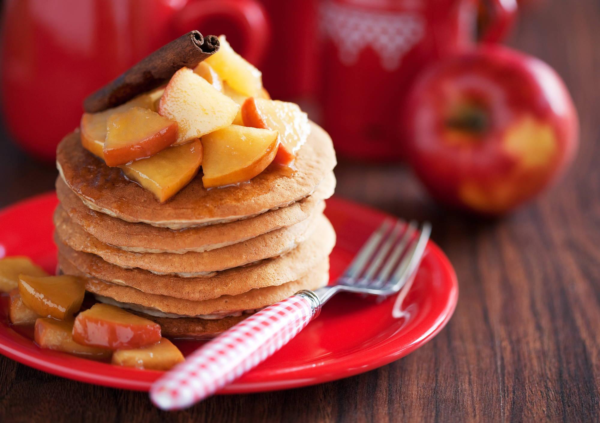 Healthy-Christmas-breakfast-pancakes