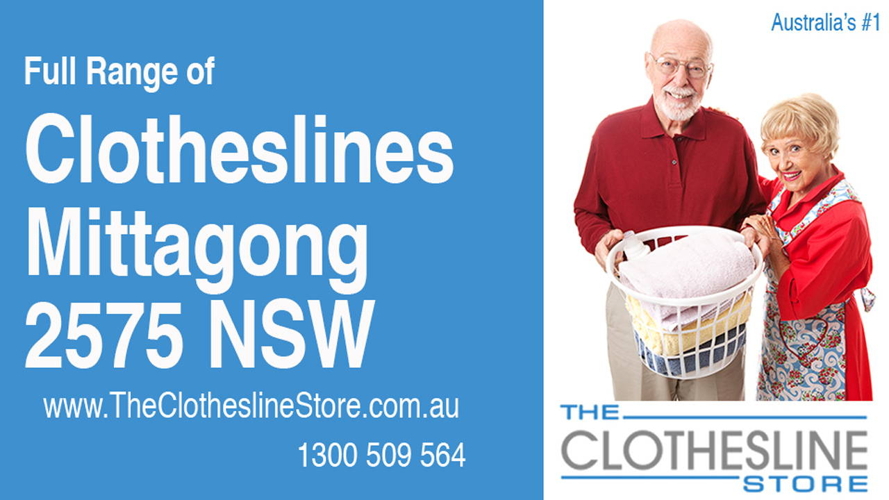 New Clotheslines in Mittagong 2575 NSW