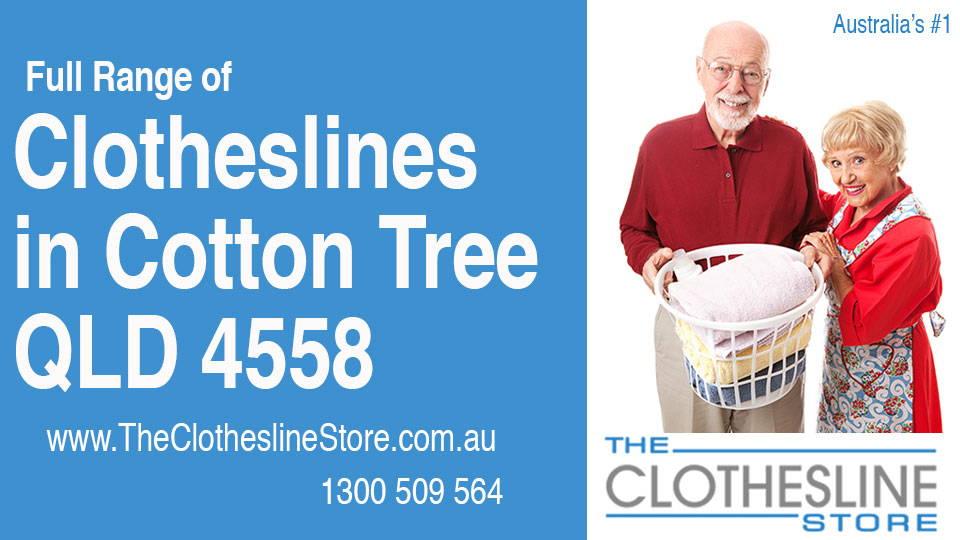 New Clotheslines in Cotton Tree Queensland 4558