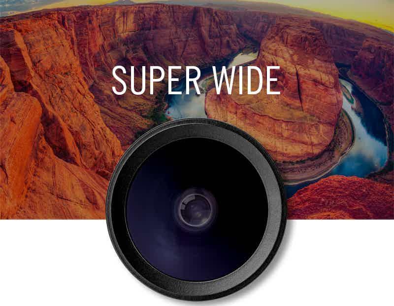 hitcase superwide lens