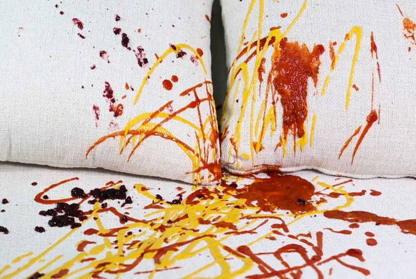 How To Remove Food Stains From Your Furniture Upholstery
