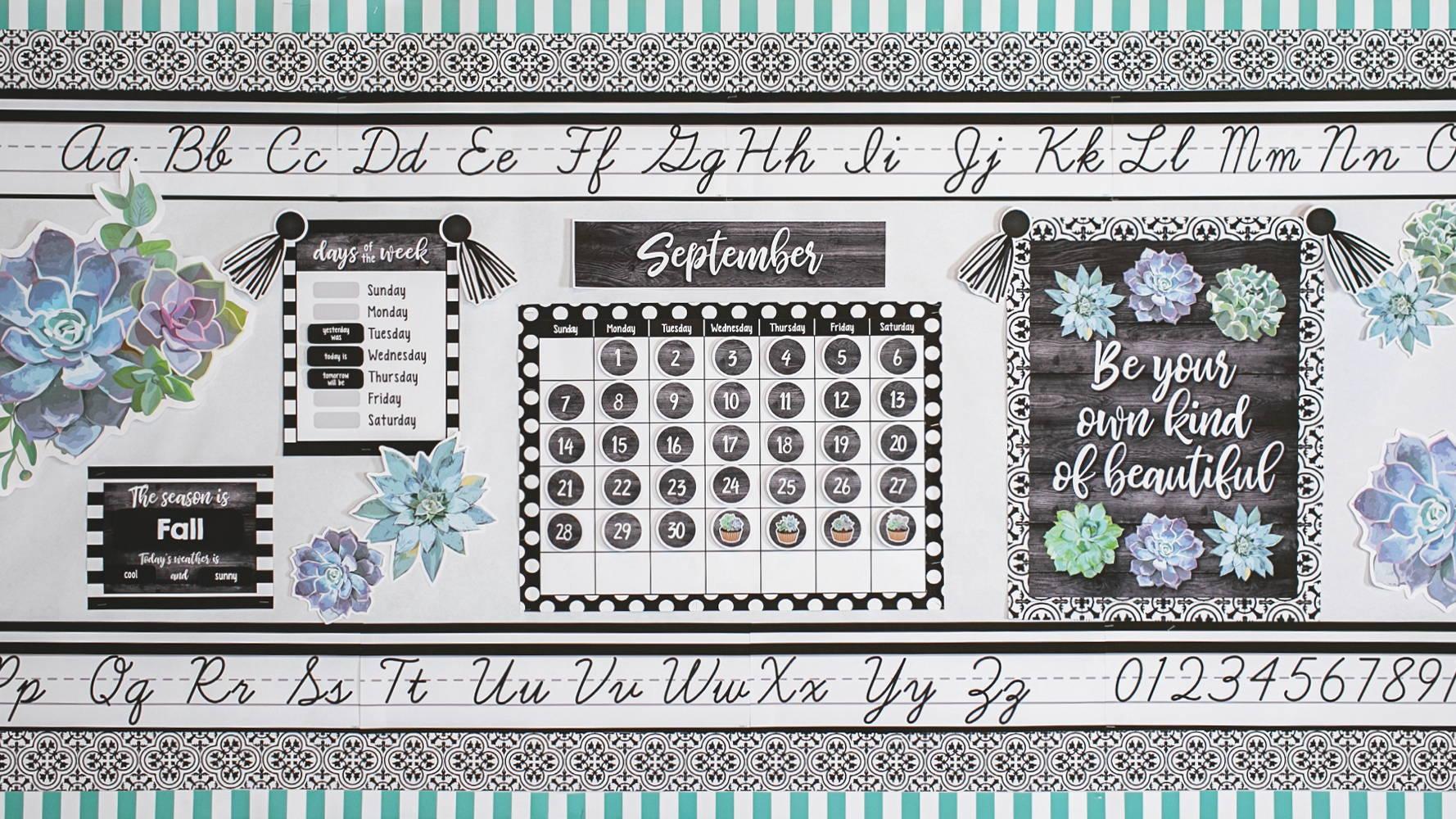 Simply Stylish Calendar
