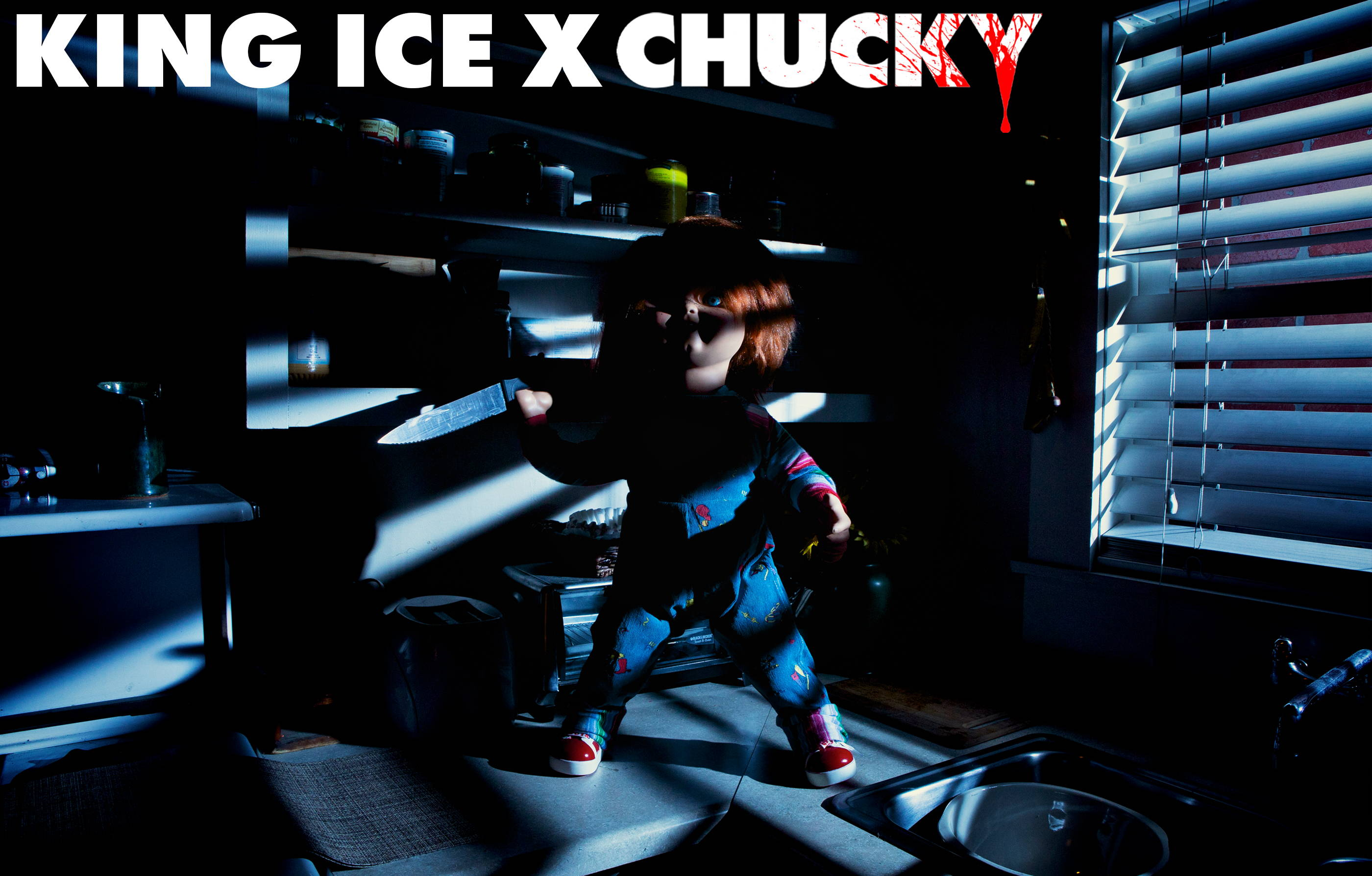 King Ice X Chucky official collaboration campaign lookbook photos