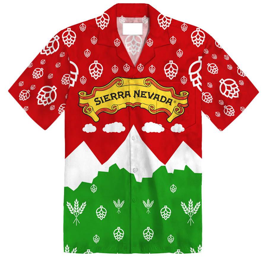 Image of Sierra Nevada Custom Hawaiian Shirt