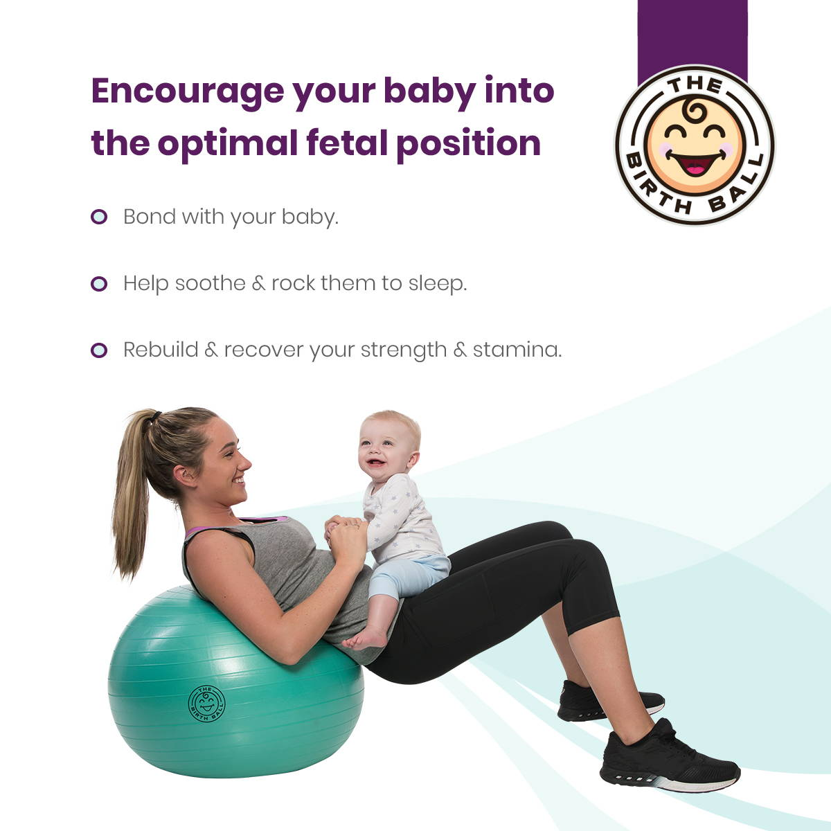 benefits of a birthing ball