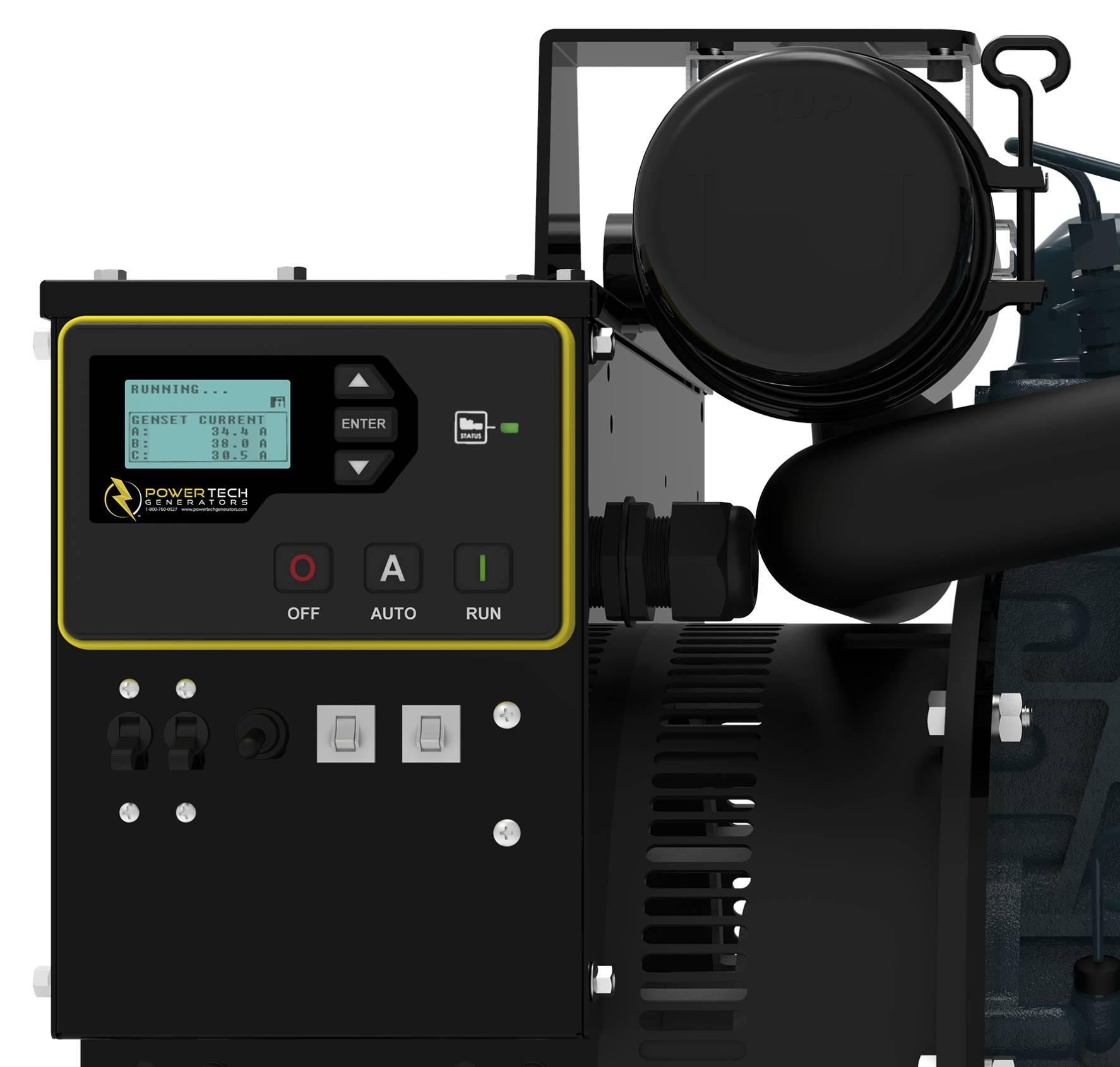 Controls of a Custom Mobile Medical Generator