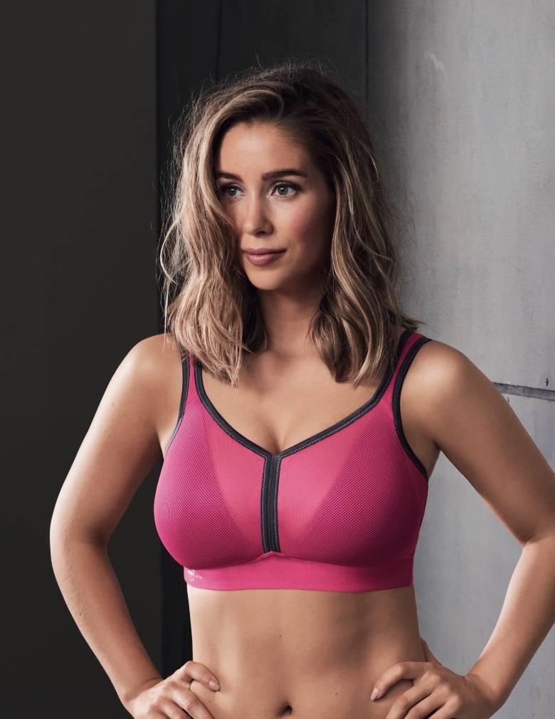 Anita 5544 Pink Anthracite Air Control Padded Maximum Support