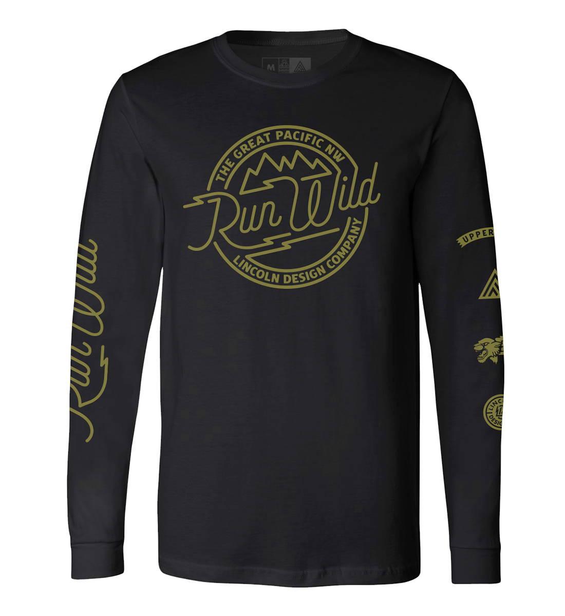 Run Wild LS - The Great PNW X Lincoln Design Co.