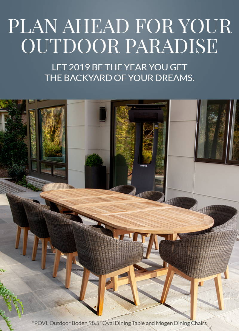 Plan Ahead for Your Outdoor Paradise