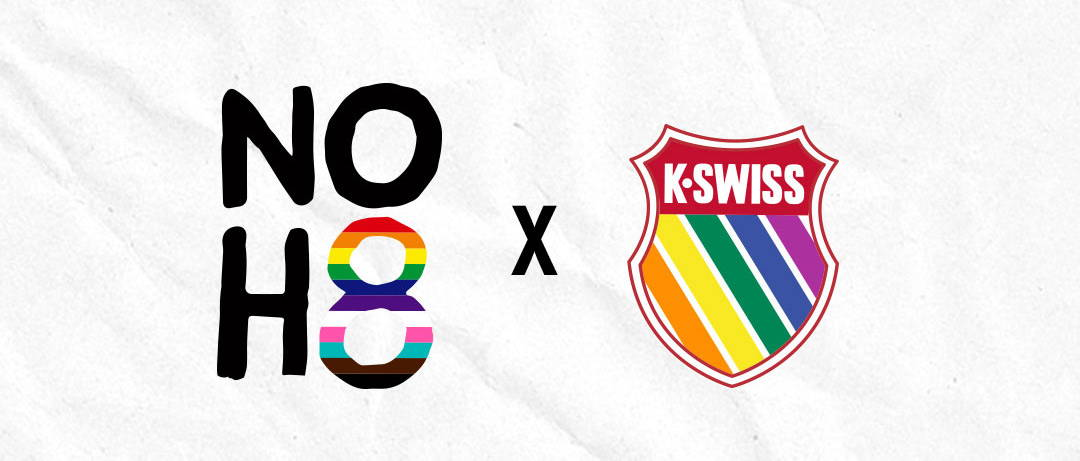 NOH8 X K-Swiss Pride Logo