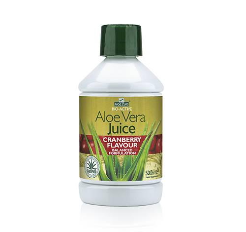 Aloe Pura Aloe Vera Cranberry Juice