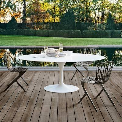 Outdoor Dining Tables - Knoll 78