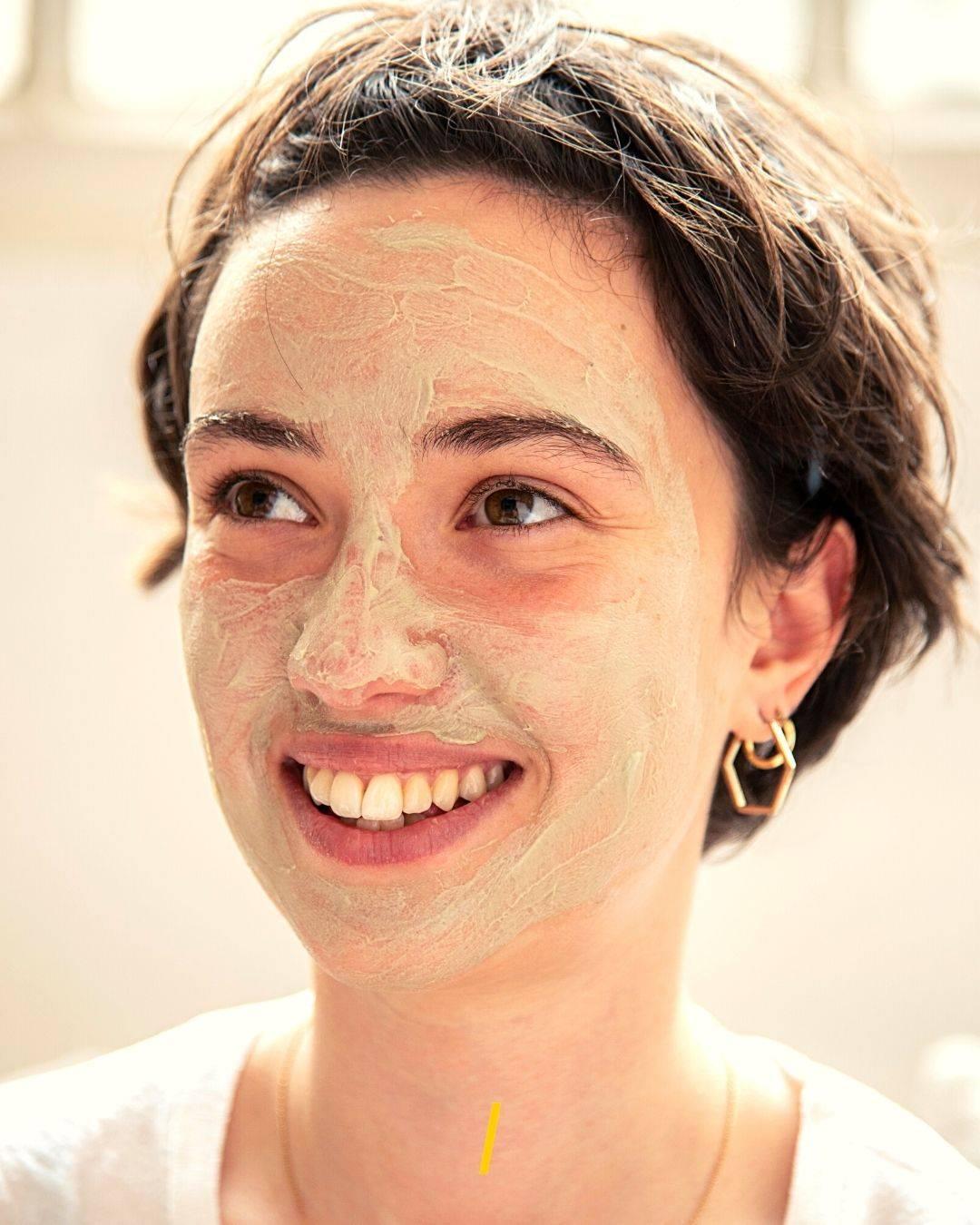 Masque visage - Argile verte