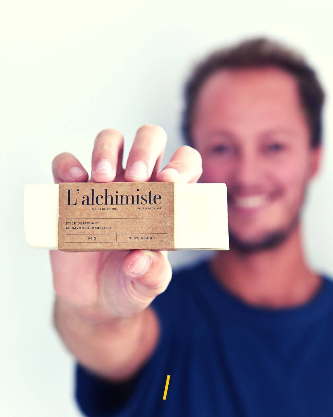 L'alchimiste stick detachant savon marseille