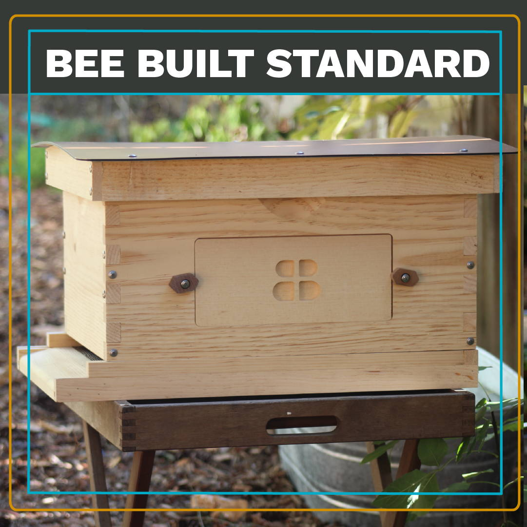 The Standard: Beautiful, practical, sustainable. Our new line launches Thursday! Perfect for new beekeepers, keepers on a budget, schools, community gardens and more.