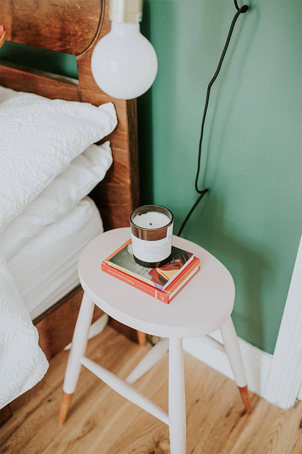 Small bedside table alternatives
