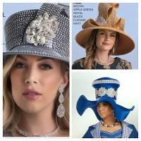 Lily Taylor Women Church Hats - Fascinators - Furs