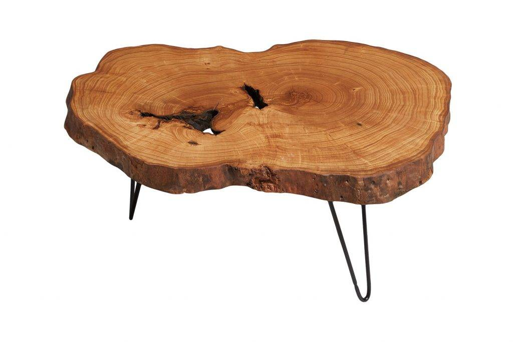 Ash Tree Live Edge Coffee Table