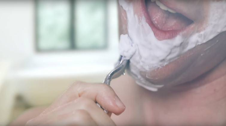 You may think that men who cut themselves while shaving are careless, but that is a myth.