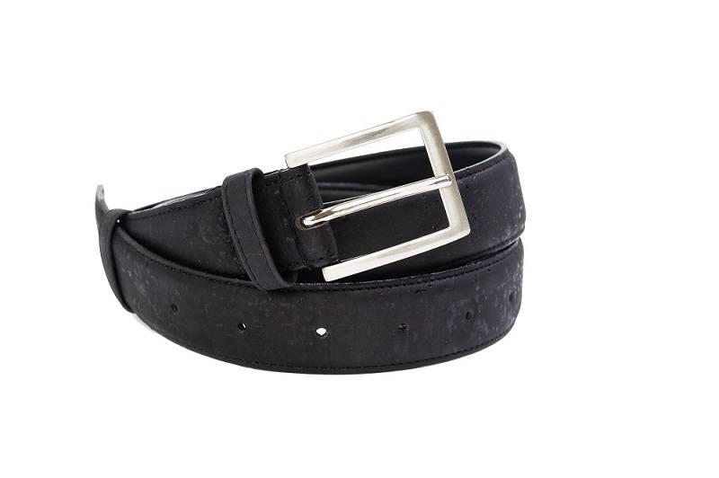 non leather belt black