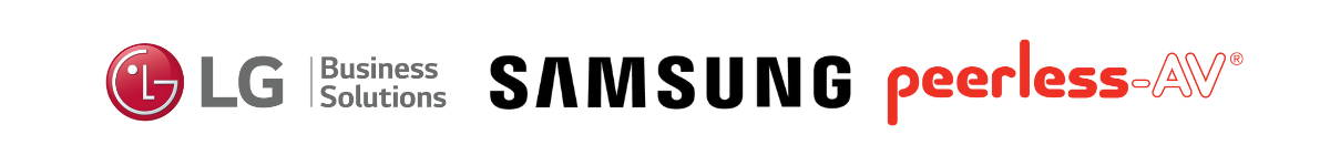 Compatible Display Manufacturer Logos