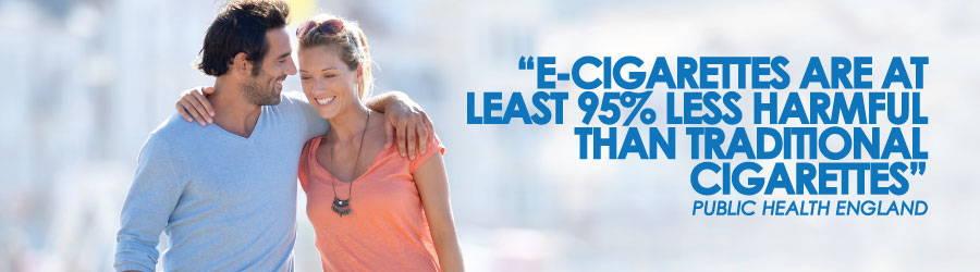 los expertos dicen que los cigarrillos electrónicos son 95% menos dañinos que los cigarrillos tradicionales
