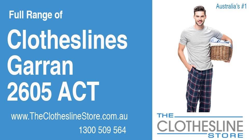 New Clotheslines in Garran ACT 2605