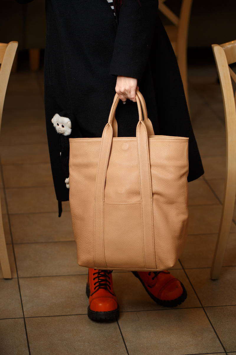wheat urban tote casual