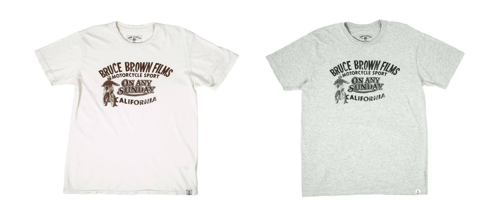 Iron & Resin X Bruce Brown Films On Any Sunday Graphic T-Shirt