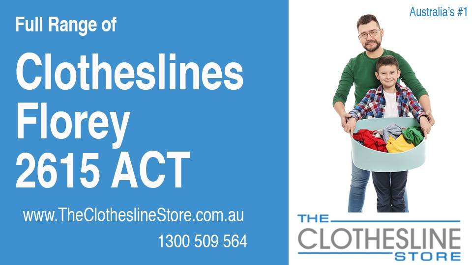 New Clotheslines in Florey ACT 2615