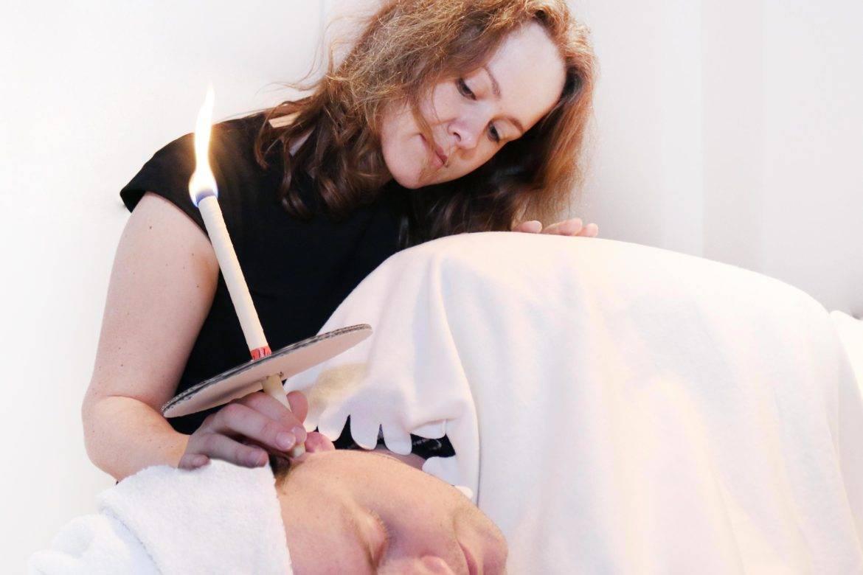 gesichtsmassage mit ohrenkerzen - dein wellness termin in berlin friedrichshain