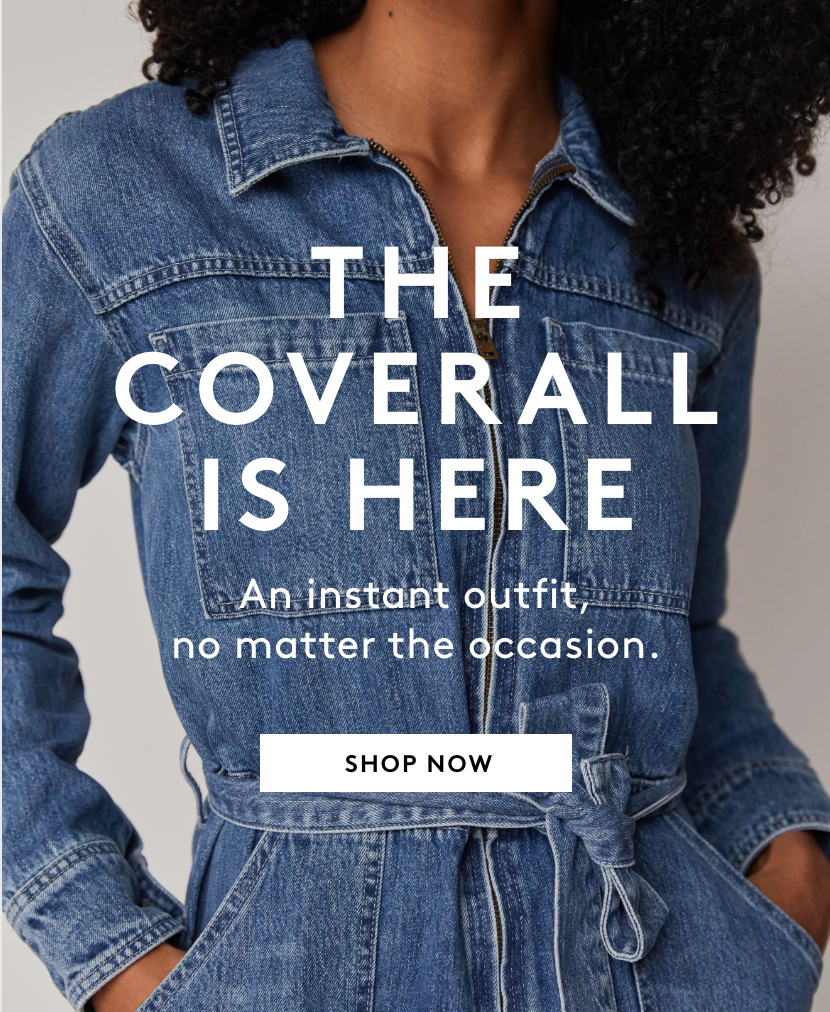 The Long-Awaited Coverall Is Here - Shop Now