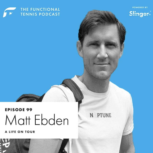 Matt Ebden on the Functional Tennis Podcast
