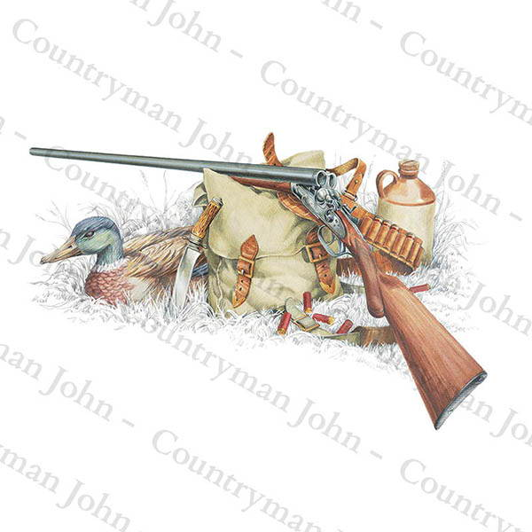 Countryman John Shotgun Art - 1301