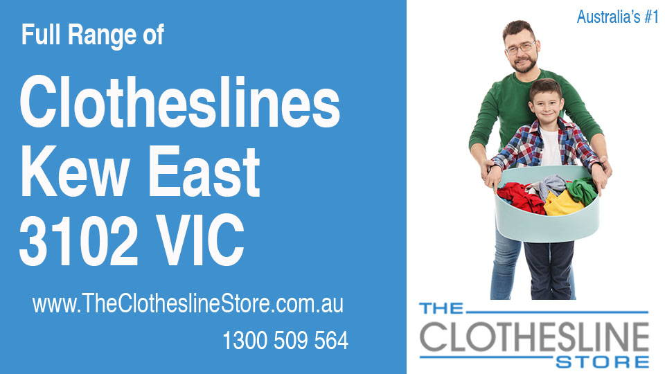 New Clotheslines in Kew East Victoria 3102