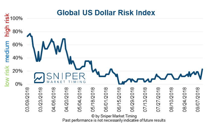 Global US Dollar risk
