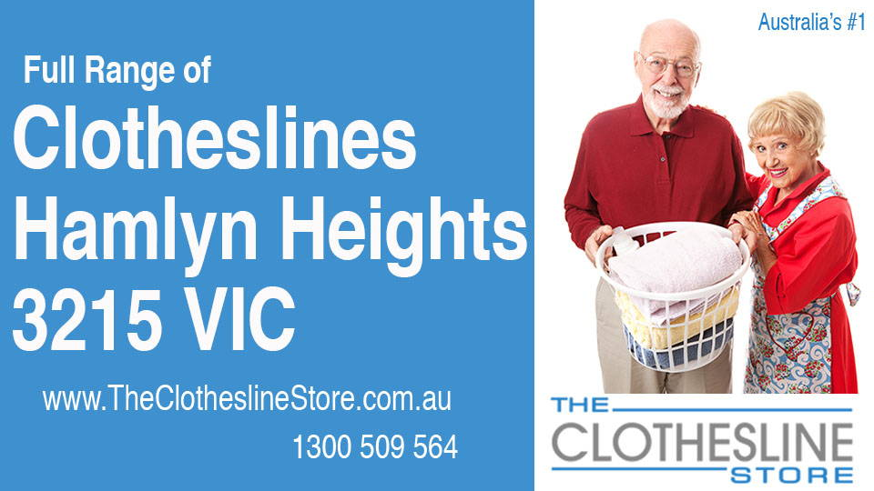 New Clotheslines in Hamlyn Heights Victoria 3215