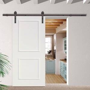 Sliding Barn Door Hardware Kit - Made in USA