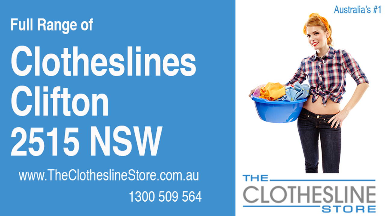 New Clotheslines in Clifton 2515 NSW