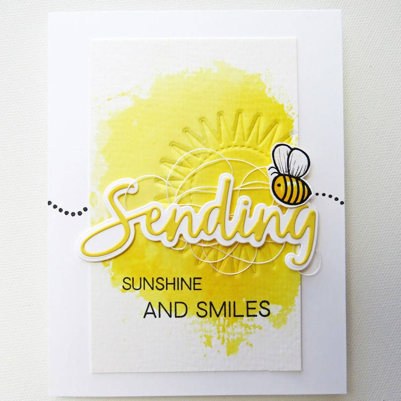 UWF Sending Sunshine card by Michele Ferguson
