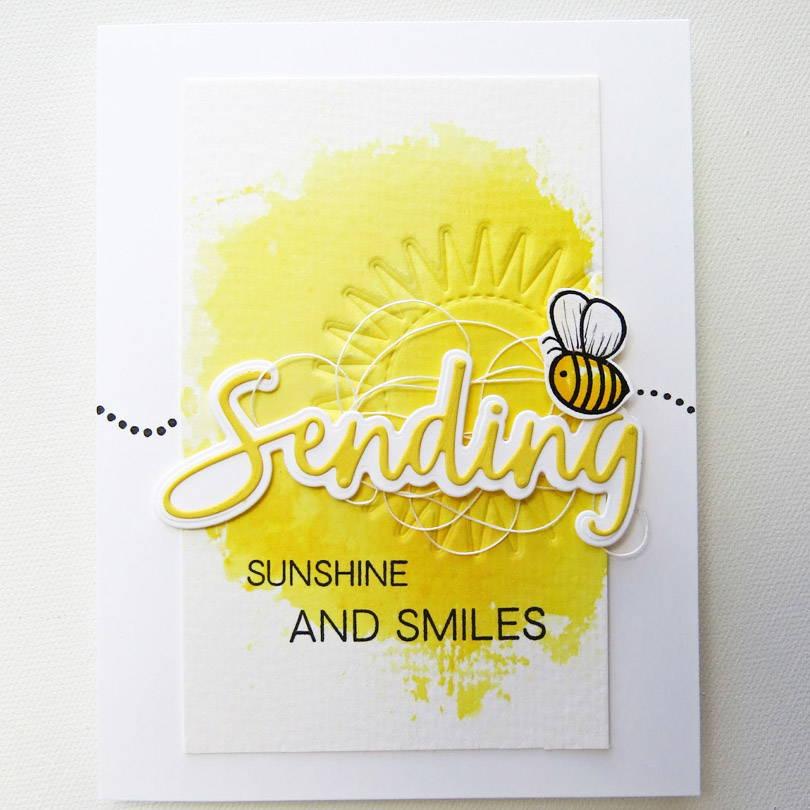 UWF Sending Sunshine card by Michele Ferguson