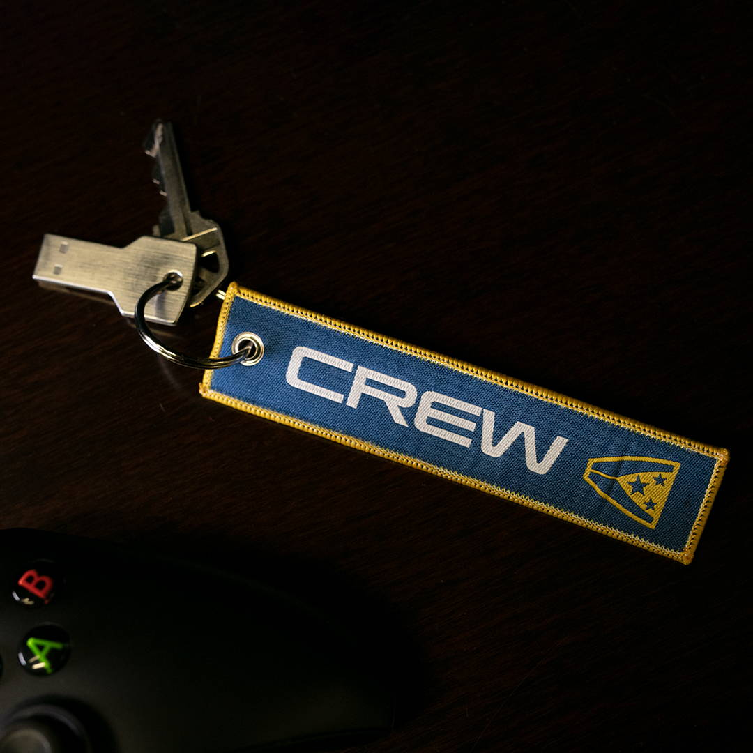 Product image of the Mass Effect Normandy Crew ID Key Chain
